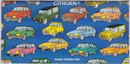 Catalogue Citroën 1980 - Voitures