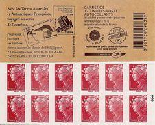 FRANCE - BOOKLET / CARNET, Yvert 4197-c26 - 2011 - Marianne De Beaujard, 12 X TVP Red - Booklets