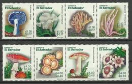 EL SALVADOR  2001  MUSHROOMS    MNH - Hongos