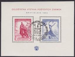 Tsjechoslowakije    .  Yvert    Blok  16     .     O   .    Gebruikt .   /   .    Cancelled - Blokken & Velletjes