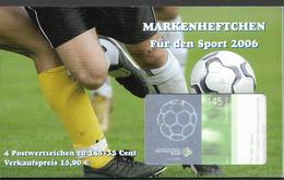 2004  Allem. Fed. Deutschland Germany Mi. 2521 Used  Booklet Sporthilfe : Für Den Sport 2006 - [7] République Fédérale