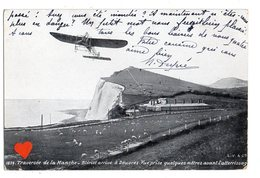 35127-ZE-ROYAUME UNI-Traversée De La Manche-Blériot Arrive à Douvres.Vue Prise Quelques Mètres Avant L' Atterissage - Dover