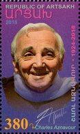 Armenia - Nagorno-Karabakh - 2018 - Charles Aznavour - Mint Stamp - Armenia