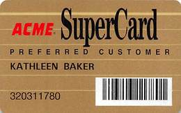 Acme Market SuperCard Preferred Customer Card - Customer Loyalty Card - Other Collections