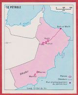 Fédération De Emirats. Pétrole  à Mascate Et Oman. Encyclopédie De 1970. - Vecchi Documenti