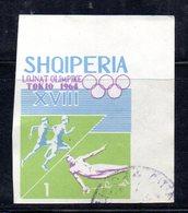 W1003 - ALBANIA 1964 , Yvert N. 707 NON DENTELLATO  Usato - Albania