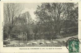 CPA Des Environs De COUBERT - Le Gué De Vernelle (Collection Delait.). - Non Classés