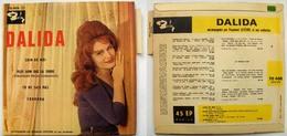 2ème Pochette Très Rare EP Barclay 70.406 Loin De Moi DALIDA - Special Formats