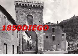 LEONESSA - PORTA SPOLETINA F/GRANDE VIAGGIATA 1963 ANIMATA - Rieti