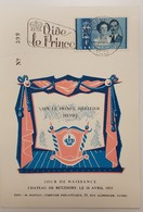 Luxembourg- Commémoration Jour De Naissance Du Prince Héritier Henri- 4f - Cartes Commémoratives