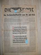 Zeitung  Die Front  Von Juli 1944 - 1939-45