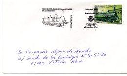 Carta Con Matasellos  Commemorativo Ferrocarril Tarragona-martorell. - 1931-Hoy: 2ª República - ... Juan Carlos I