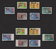 URSS - N°2843 à N°2848 + Non Denteles - Jeux Olympiques De Tokyo - Neufs Sans Charniere ** MNH - Cote 10.50€ - 1923-1991 USSR