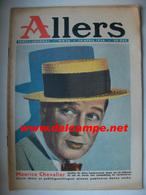 Suède Revue Allers # 16 - 14.4.1936 Maurice CHEVALIER - Livres, BD, Revues