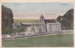 Postcard The Church Rockingham Nr Corby Northamptonshire By Stewart & Woolf  My Ref  B12669 - Northamptonshire