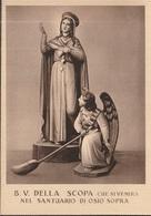CARTOLINA: Santuario Beata Vergine Della Scopa, Osio Sopra, Bergamo - Vergine Maria E Madonne
