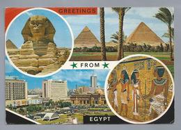 EG.- GREETINGS FROM EGYPT. 1972. Bus. - Gruss Aus.../ Gruesse Aus...