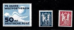 Sellos De DDR Nº Yvert A1, B1 Y C1 ** - [6] República Democrática