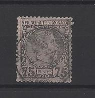 MONACO.  YT  N° 8  Obl  1885 - Monaco