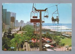 ZA.- DURBAN. Acableway Ride High Above The Fun Fair Of Durban's Sea Boulevard. Marineparade SOUTH AFRICA - Zuid-Afrika