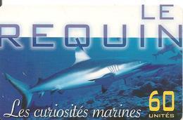 CARTE-PUCE-POLYNESIE-60U-PF120-GEMA-10/01-Le REQUIN -UTILISE-TBE - Polynésie Française