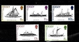 Serie De Jersey Nº Yvert 181/85 **  BARCOS (SHIPS) - Jersey