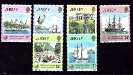 Serie De Jersey Nº Yvert 222/27 **  BARCOS (SHIPS) - Jersey