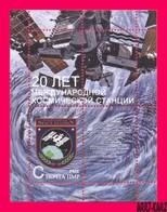 TRANSNISTRIA 2018 International Space Station 20th Anniversary Souvenir Sheet MNH - Space