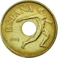 Monnaie, Espagne, Juan Carlos I, 25 Pesetas, 1991, Madrid, TTB, Aluminum-Bronze - [ 5] 1949-… : Royaume