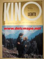 Revue Finlandaise 1971 Annie Girardot & Bruno Pradal Mourir D'aimer - Cinema & Television