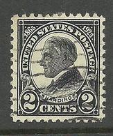 USA 1923 Michel 289 President Harding O - Usati