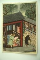 L' ELEMOSINA NEGATA  - ASIAN CHINA JAPAN  CHINE ? RELIGIONE  NON   VIAGGIATA  ART. GRAF. Flli  BONETTI MILANO      ***** - Tableaux, Vitraux Et Statues