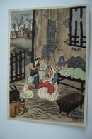 NATIVITA  - ASIAN CHINA JAPAN  CHINE ? RELIGIONE  NON   VIAGGIATA  ART. GRAF. Flli  BONETTI MILANO      ***** - Tableaux, Vitraux Et Statues