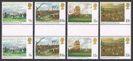 Great Britain 863-866 Five Gutter Pair Sets,MNH.Michel 793-796. Derby,200th Ann.1979.Paintings. - 1952-.... (Elizabeth II)