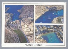 MT.- Xlendi. Gozo. Haven. Boten. - Malta