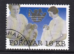 1.- FAROE ISLANDS 2011 Canceled Stamp - Islas Faeroes
