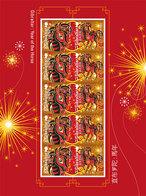 Gibraltar 2014 Chinese  Year Of The Of The Horse  Jr Vh Paard  UNDER FACE VALUE ONDER POSTPRIJS ! Postfris/mnh/neuf - Gibraltar