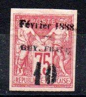 GUYANE - YT N° 9 - Neuf * - MH - Cote 320,00 € - Guyane Française (1886-1949)