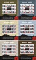 Gibraltar   2015  WWI  Worldwar 1  Eerste Wereldoorlog Velletjes Onder Post Prijs UNDER FACE VALUE !   Postfris/mnh/neuf - Gibraltar