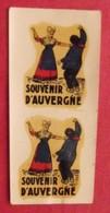 Publicité  Décalcomanie Souvenir D'Auvergne. Ets Créal, Nice. Vers 1960 - Advertising