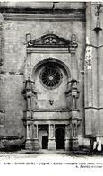 2-CPA-1920-79-OIRON-L EGLISE-ENTREE PRINCIPALE-INT Le TOMBEAU De Marbre Et Le Crocodile-TBE - Frankreich