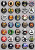 35 X The Offspring Music Fan ART BADGE BUTTON PIN SET (1inch/25mm Diameter) - Music