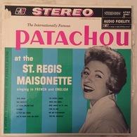 LP 33 T Patachou USA Chante Léo Ferré Jolie Môme & Paname At The St. Regis Maisonette New York - Collector's Editions