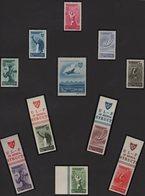 Roumanie - N°843 à 848 +N°849 à N°853 - Organistaion Du Sport Populaire - Neufs Sans Charniere ** MNH - Cote +63€ - 1948-.... Républiques