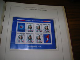 Polonia PO Astronauti Polonia S/s  Scott.2270a+2271a See Scans On Schaubek Page; - 1944-.... Repubblica