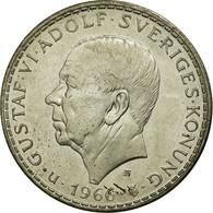Monnaie, Suède, Gustaf VI, 5 Kronor, 1966, TTB+, Argent, KM:839 - Suède