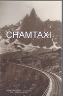74  CHAMONIX MONT BLANC  CHEMIN DE FER A CREMAILLERE DU MONTEVERS VIADUC D ARRIVEE A LA MER DE GLACE - Chamonix-Mont-Blanc