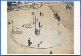 Gustave CAILLEBOTTE - Un Refuge Boulevard Haussmann, 1880 - Peintures & Tableaux