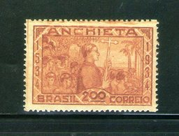 Brazil  - Scott # 394 - José De Anchieta, 400th Anniversary - 1934 MLH - Neufs