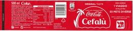 Etichetta Coca Cola - Vinci Un Viaggio Con Coca Cola A CEFALU' - Coca-Cola